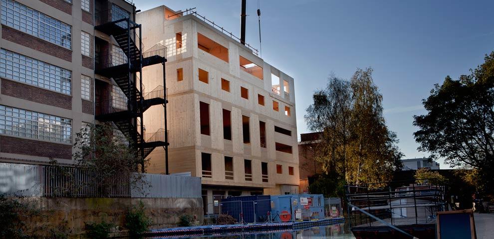 CLT Structure Hackney Road London