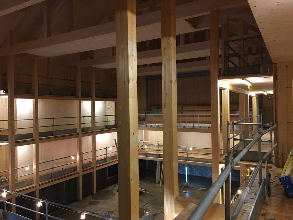 Hurstpierpoint School Mint Construction