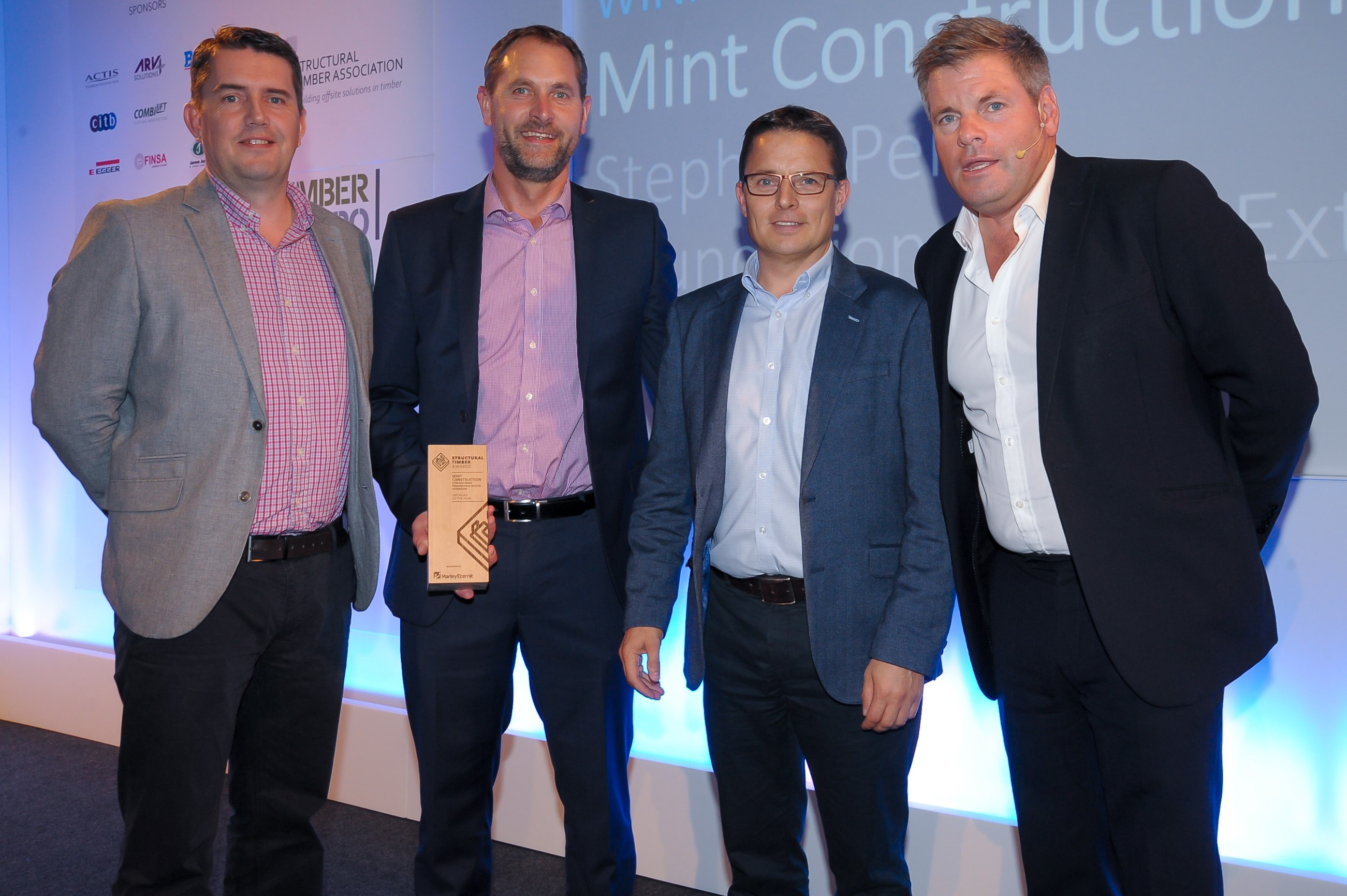 'Installer of the Year' Winners - STA Awards 2017