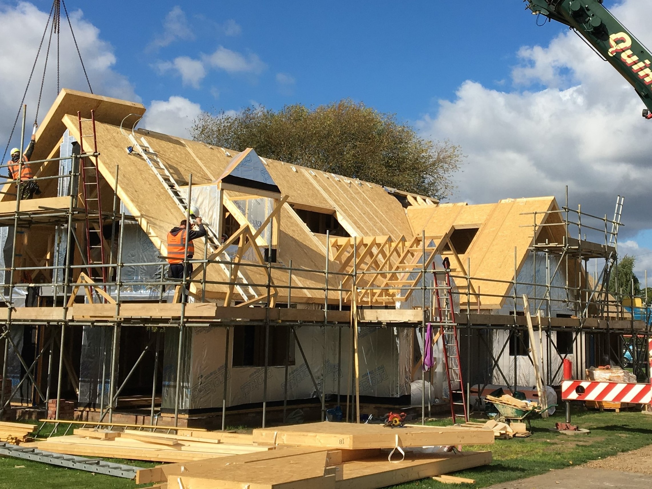 Kingspan Timber Solutions, Tempsford, Bedfordshire